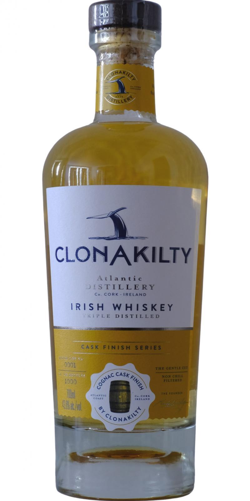 Clonakilty Cognac Cask Finish