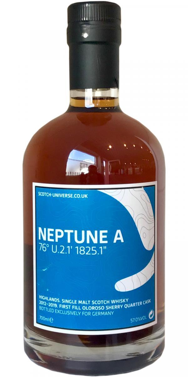 Scotch Universe Neptune A - 76° U.2.1' 1825.1''