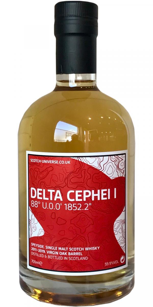 Scotch Universe Delta Cephei I - 88° U.0.0' 1852.2''
