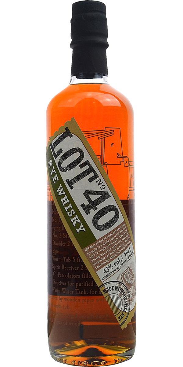 Lot No. 40 Rye Whisky