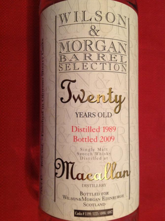 Macallan 1989 WM