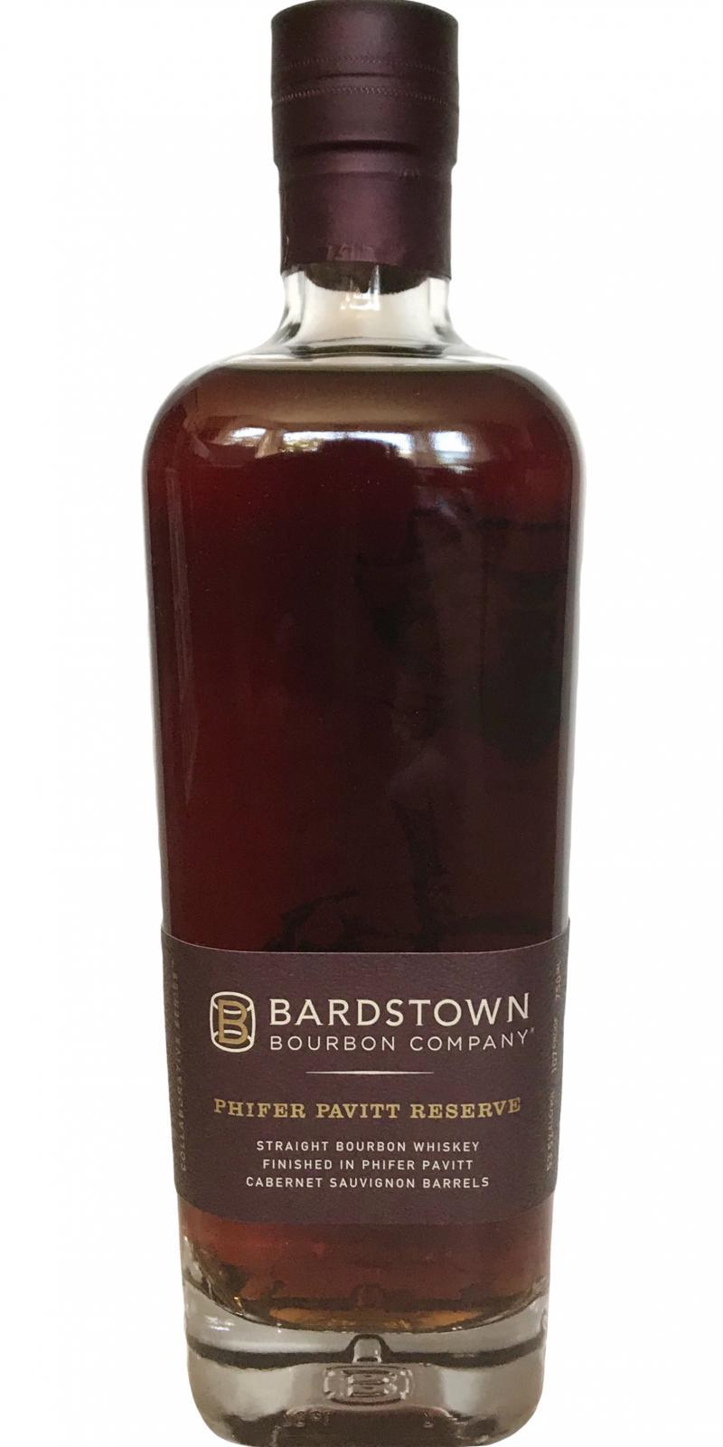 Bardstown Bourbon Company Phifer Pavitt Reserve