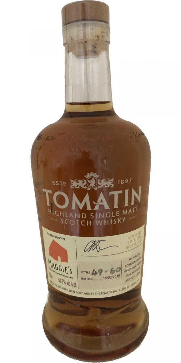 Tomatin Maggie's Limited Edition Bottling