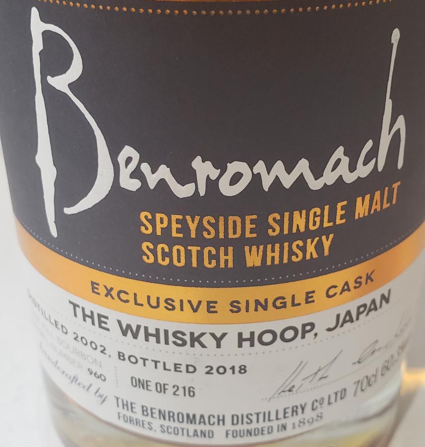 Benromach 2002