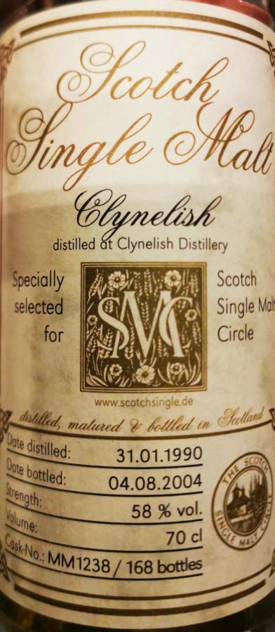 Clynelish 1990 MC