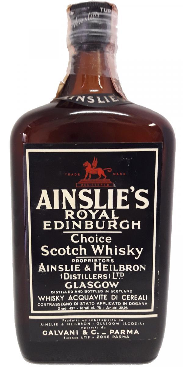 Ainslie's Royal Edinburgh