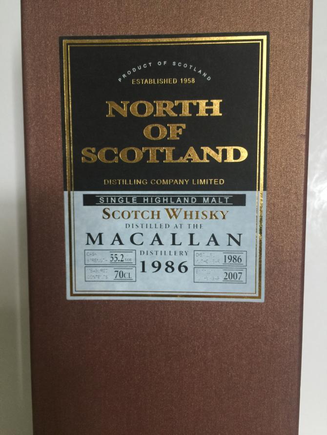 Macallan 1986 NoSD