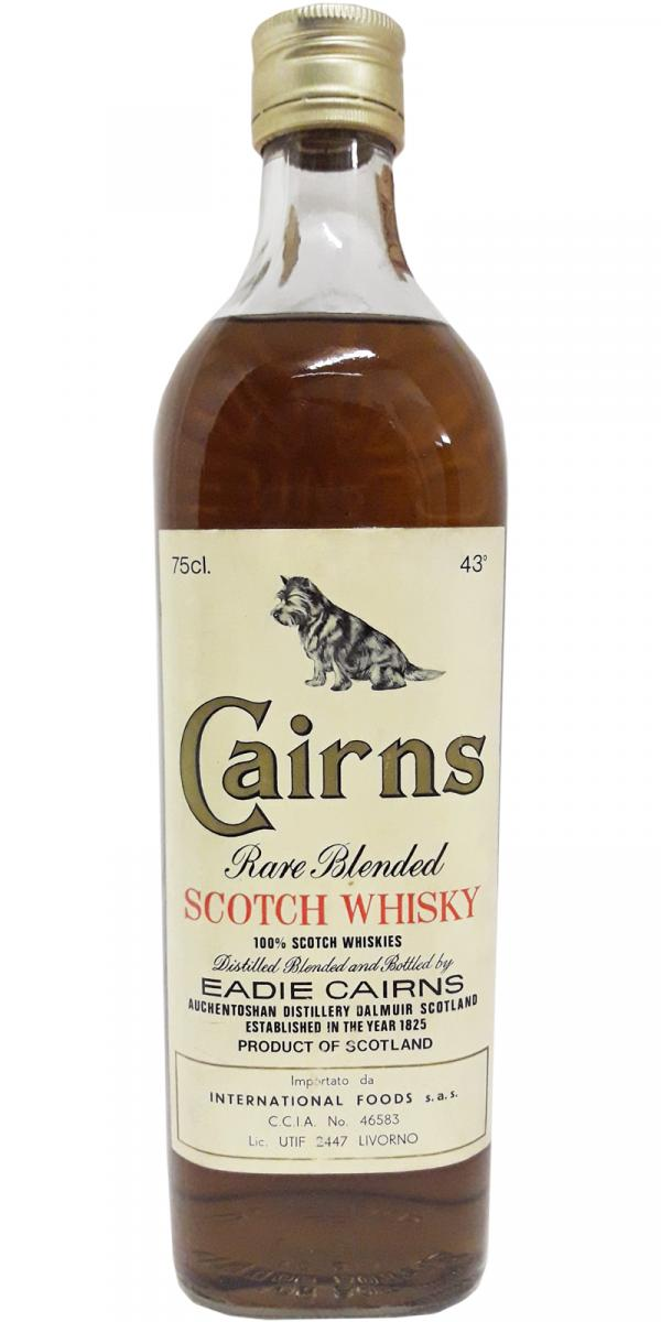 Cairns Rare Blended Scotch Whisky
