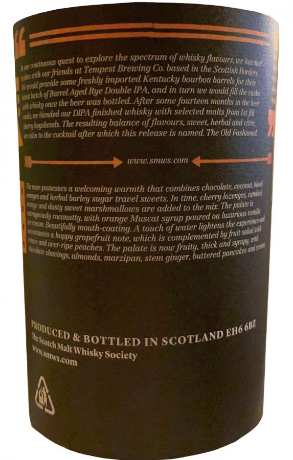 Old Fashioned 11-year-old SMWS
