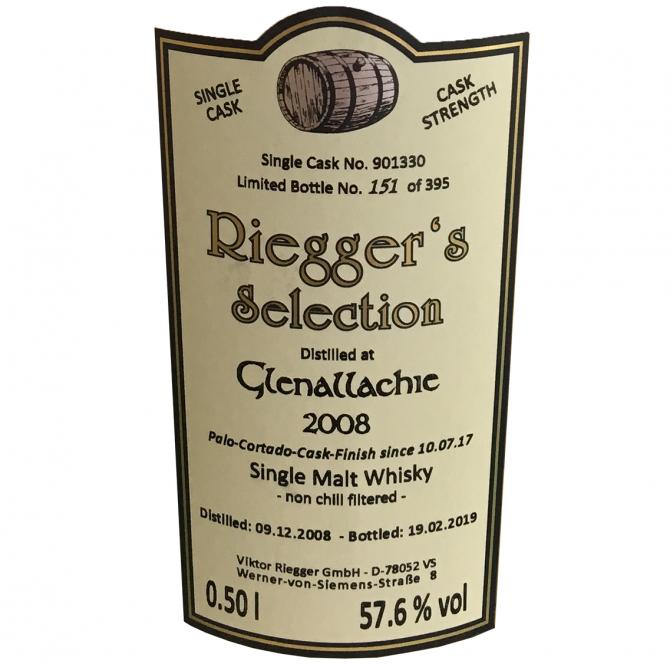 Glenallachie 2008 RS