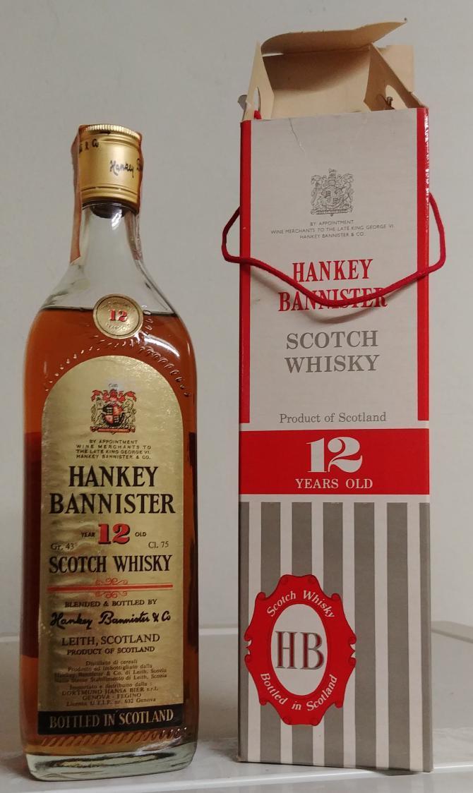 Hankey Bannister 12-year-old