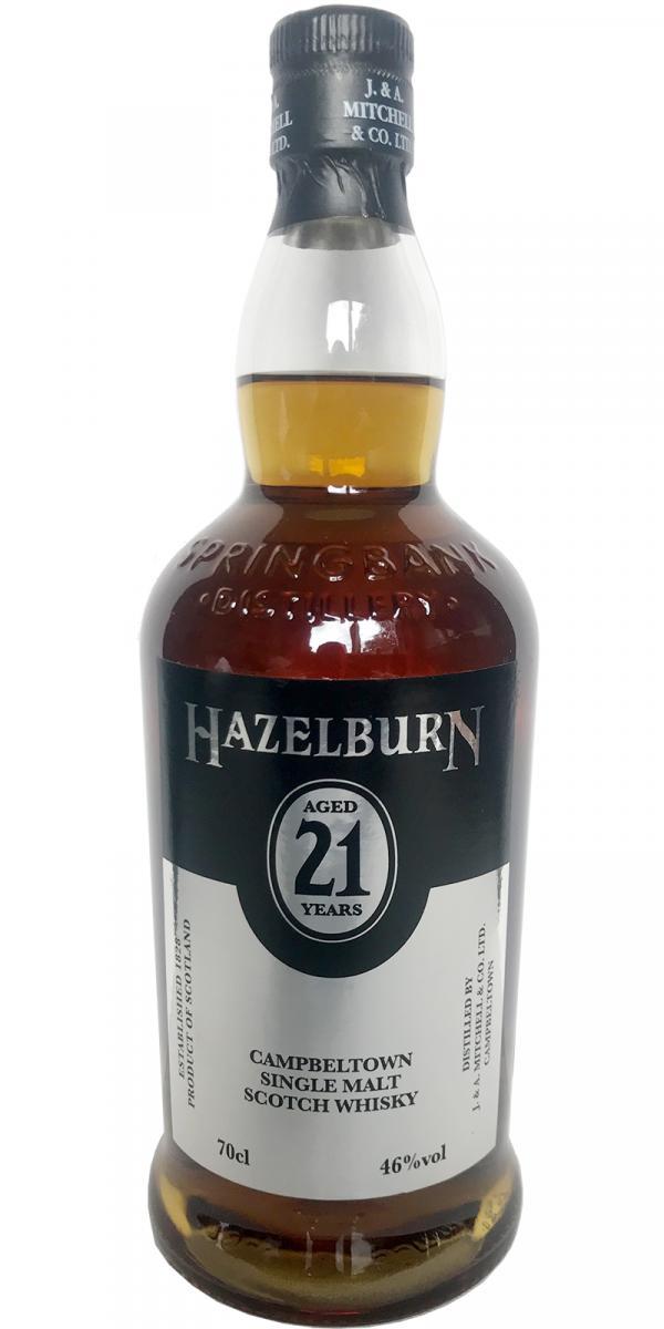 Hazelburn 21-year-old