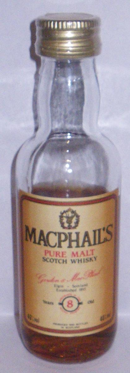 MacPhail's 08-year-old GM