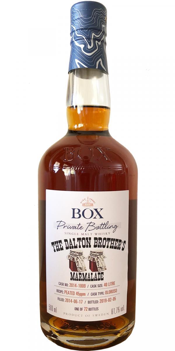 Box The Dalton Brother's Marmalade