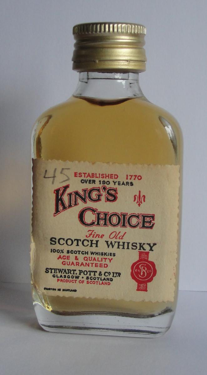 King's Choice Fine Old Scotch Whisky