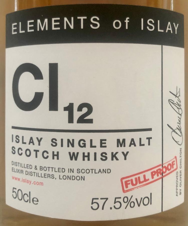 Caol Ila Cl12 ElD