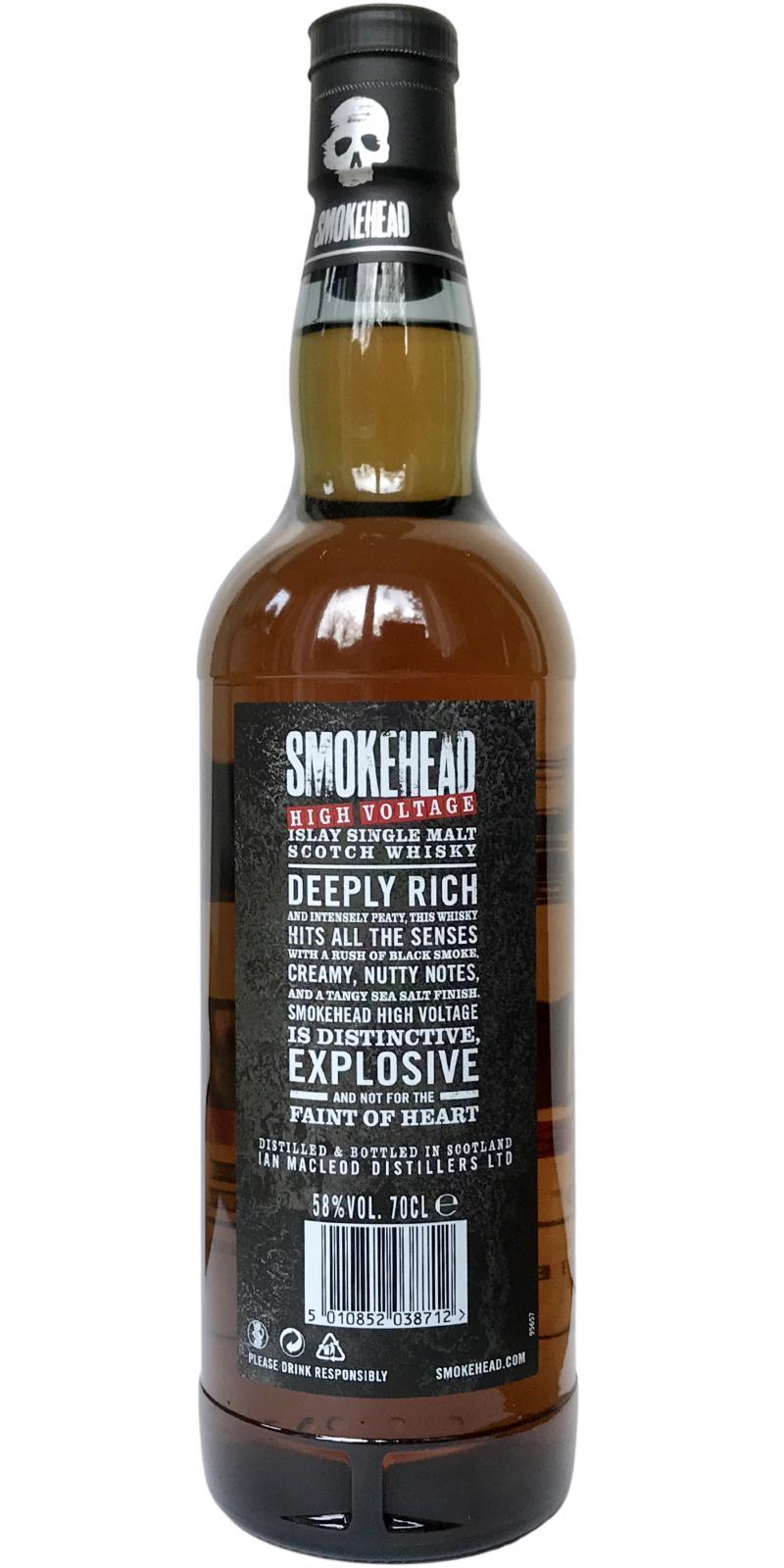 Smokehead High Voltage IM