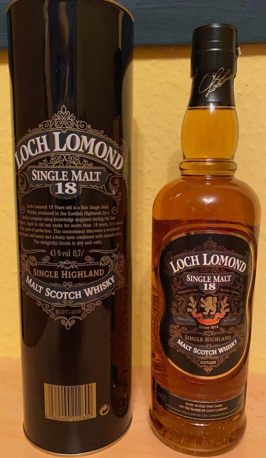Loch Lomond 18-year-old