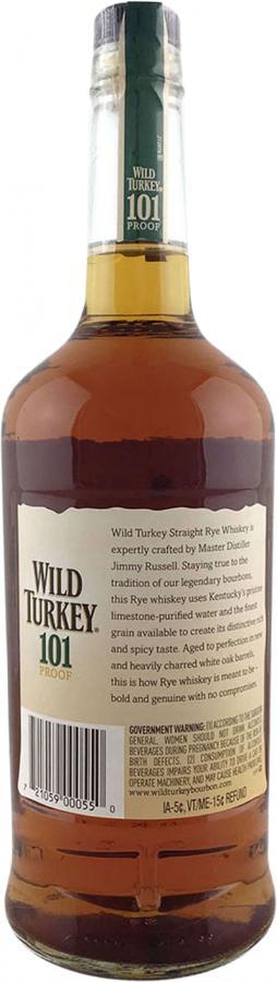 Wild Turkey Straight Rye Whiskey