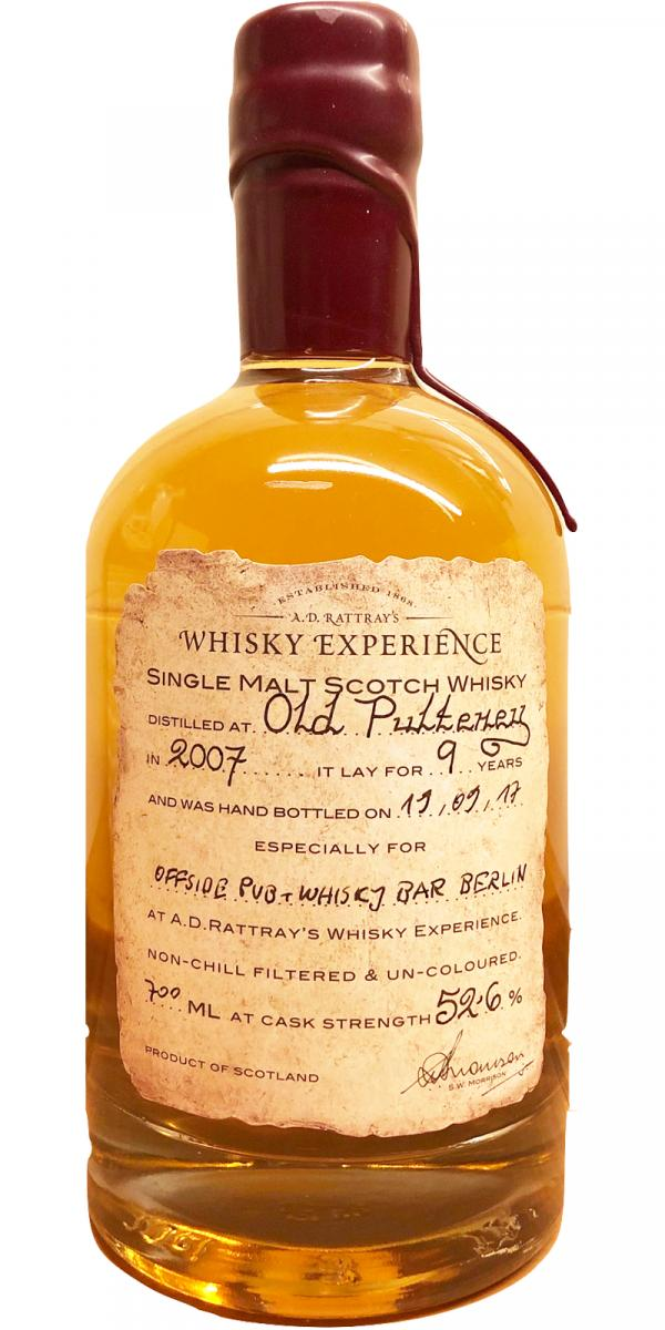 Old Pulteney 2007 DR