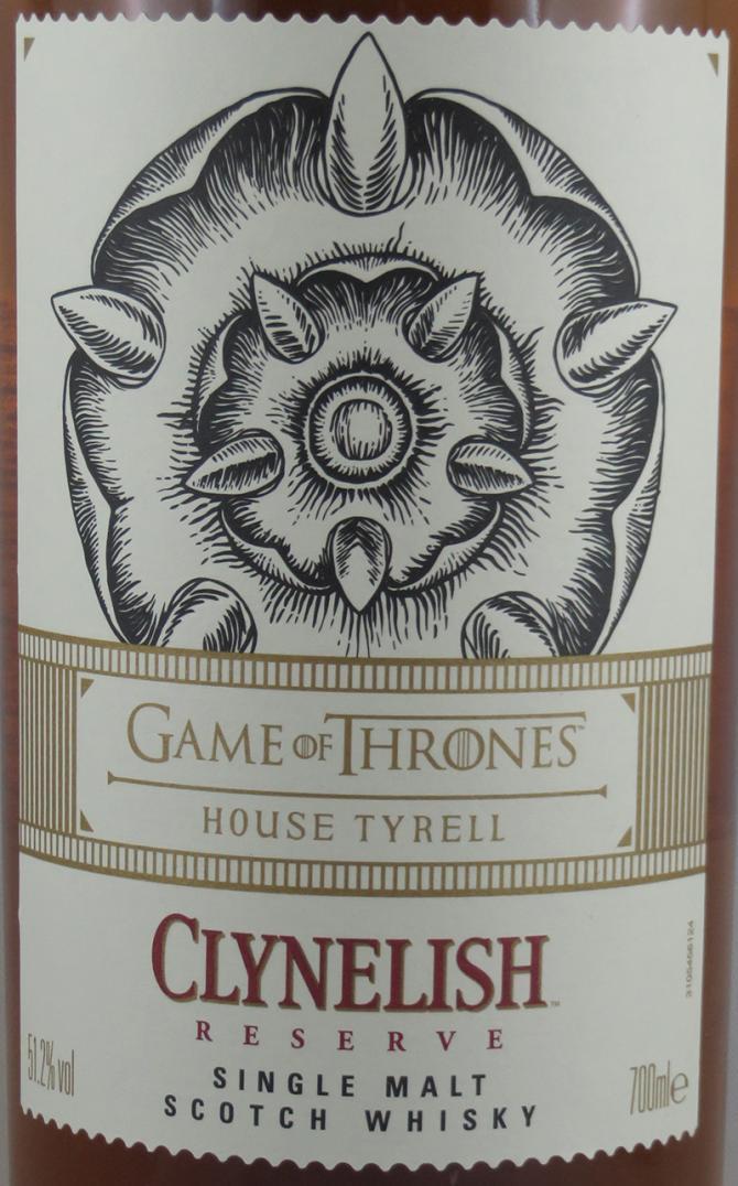 Clynelish Reserve - House Tyrell