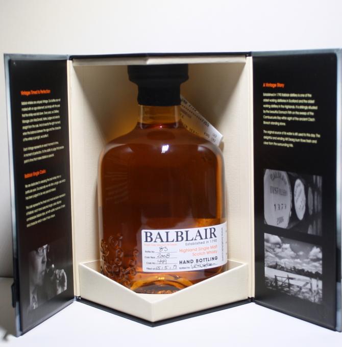 Balblair 2008