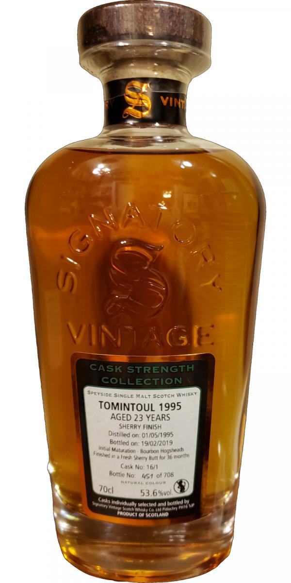 Tomintoul 1995 SV