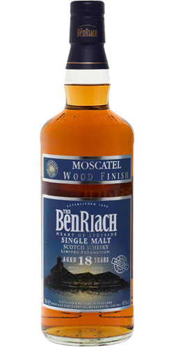 BenRiach 18-year-old Moscatel