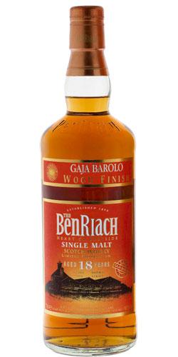 BenRiach 18-year-old Gaja Barolo