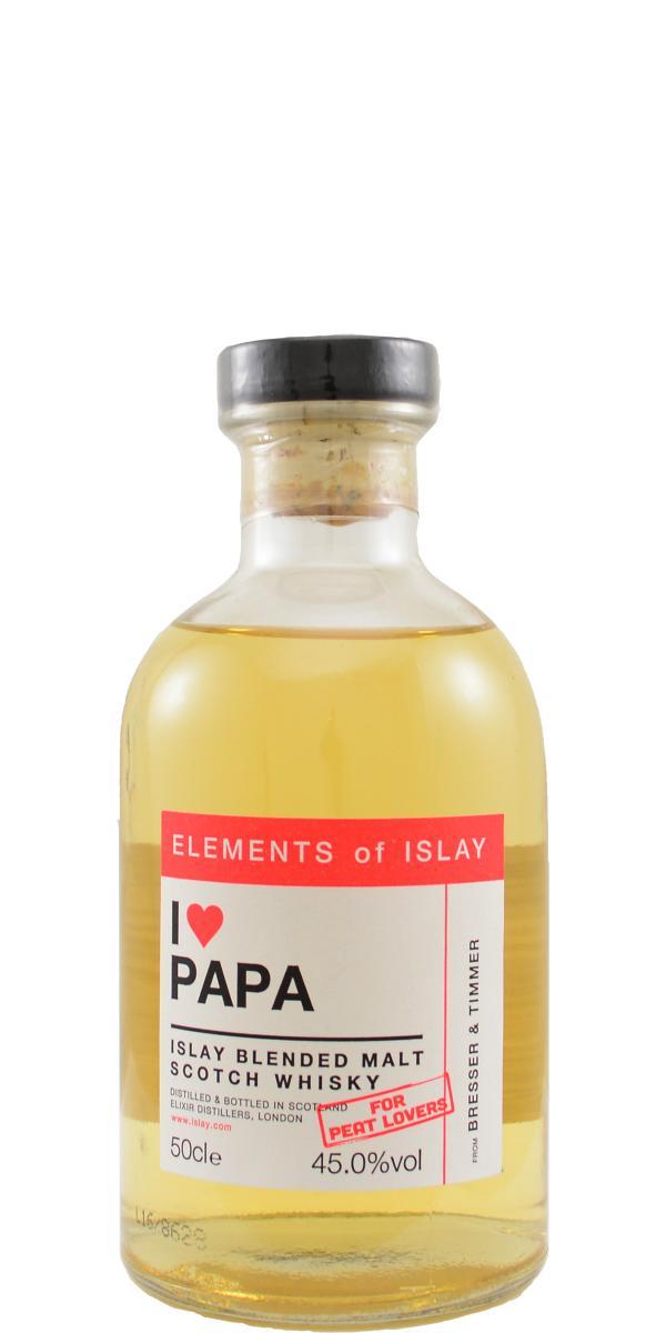 Islay Blended Malt Scotch Whisky I ♥  Papa ElD