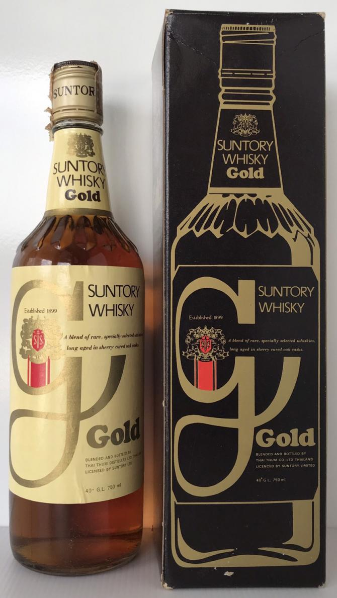 Suntory Whisky Gold