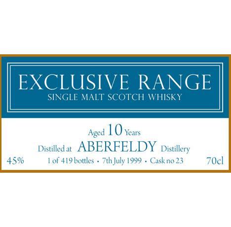 Aberfeldy 1999 CWC