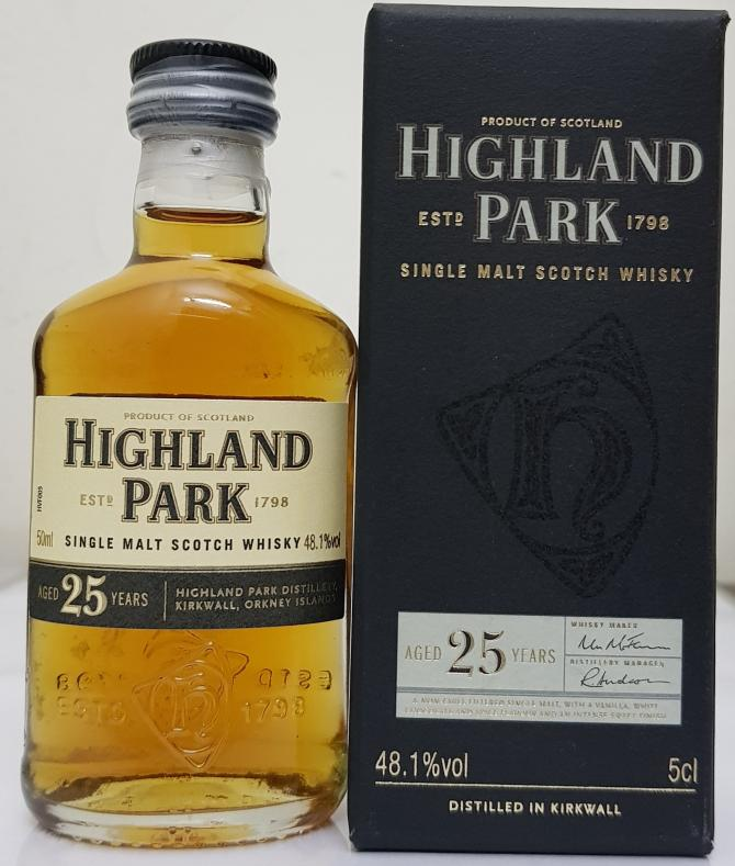 Highland Park 25-year-old