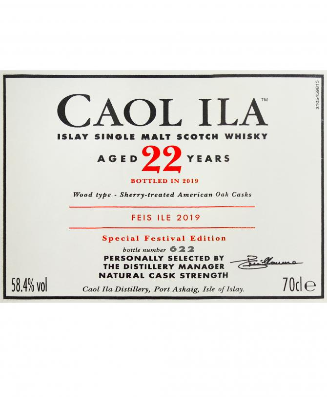 Caol Ila 22-year-old