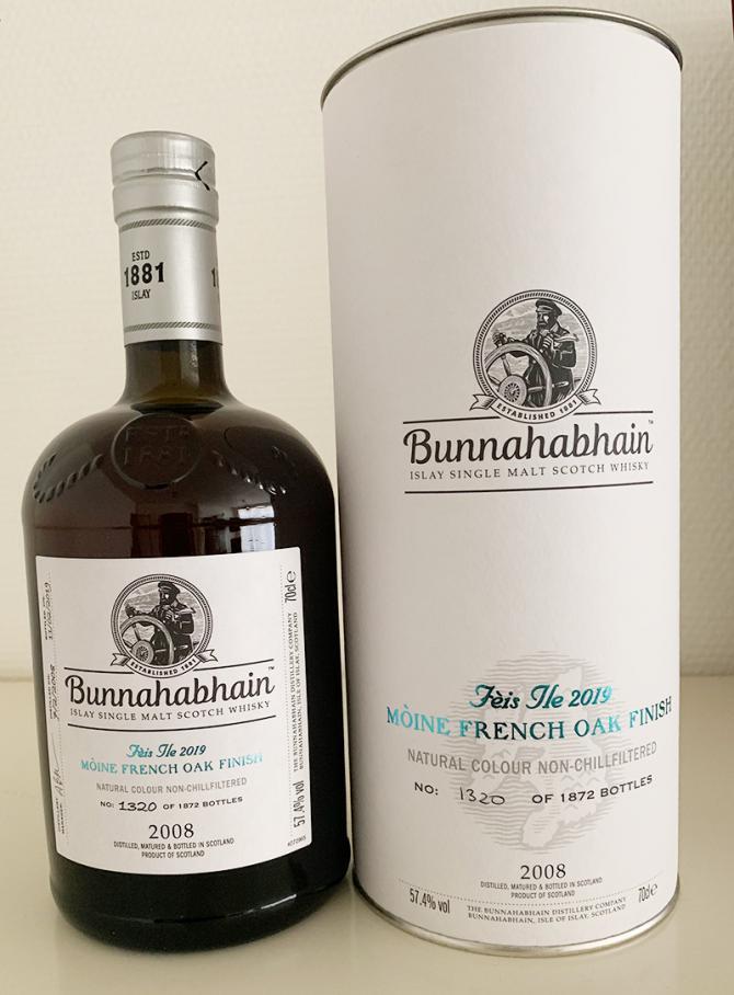 Bunnahabhain 2008 Mòine
