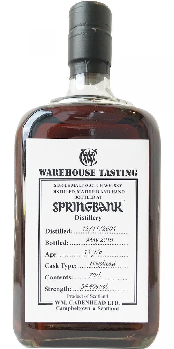 Springbank 2004 CA