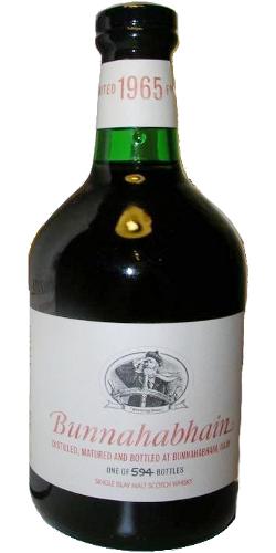 Bunnahabhain 1965 Limited Edition