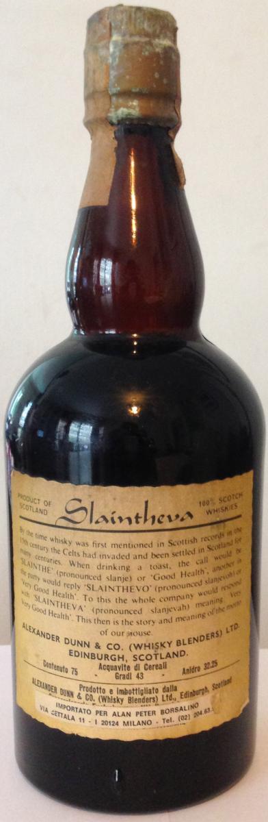 Alexander Dunn Blended Scotch Whisky