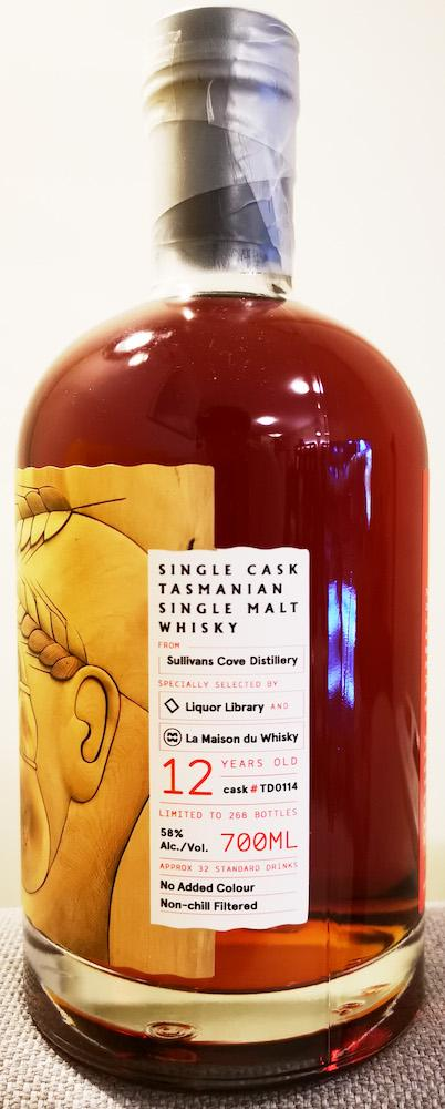Sullivans Cove 12-year-old