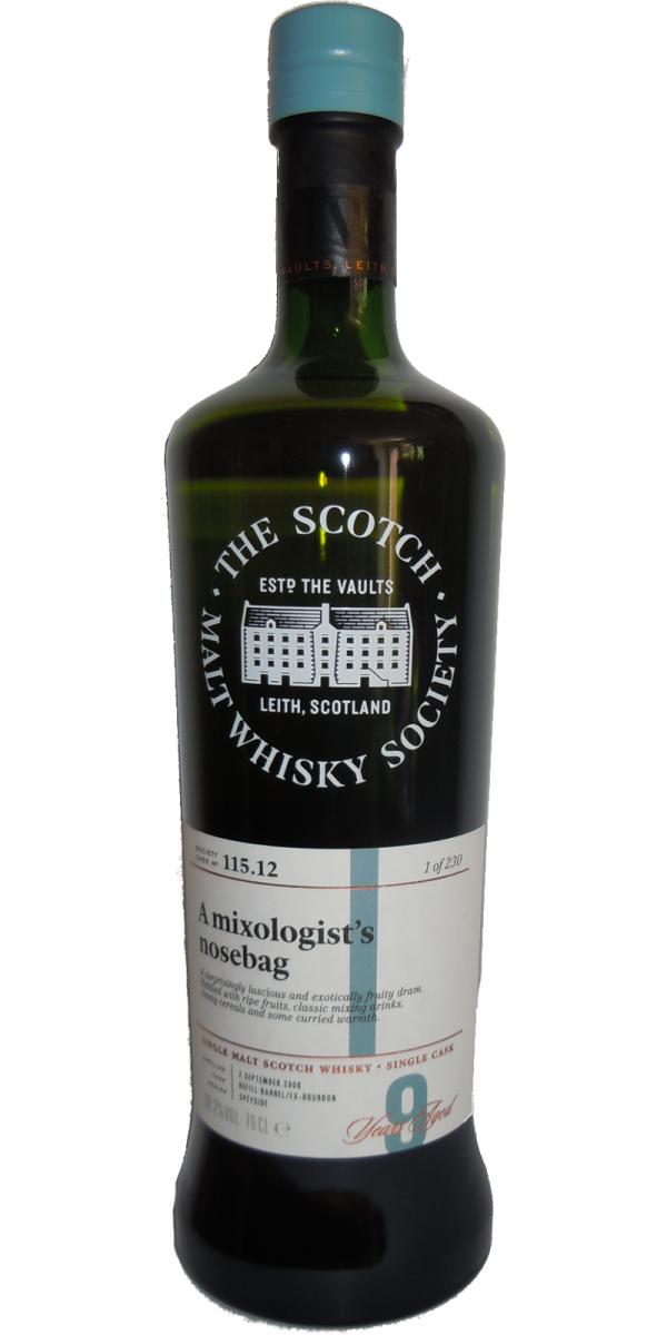 An Cnoc 2009 SMWS 115.12