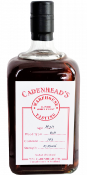 Blended Scotch Whisky 38-year-old CA