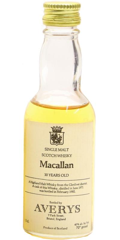 Macallan 1971 Av