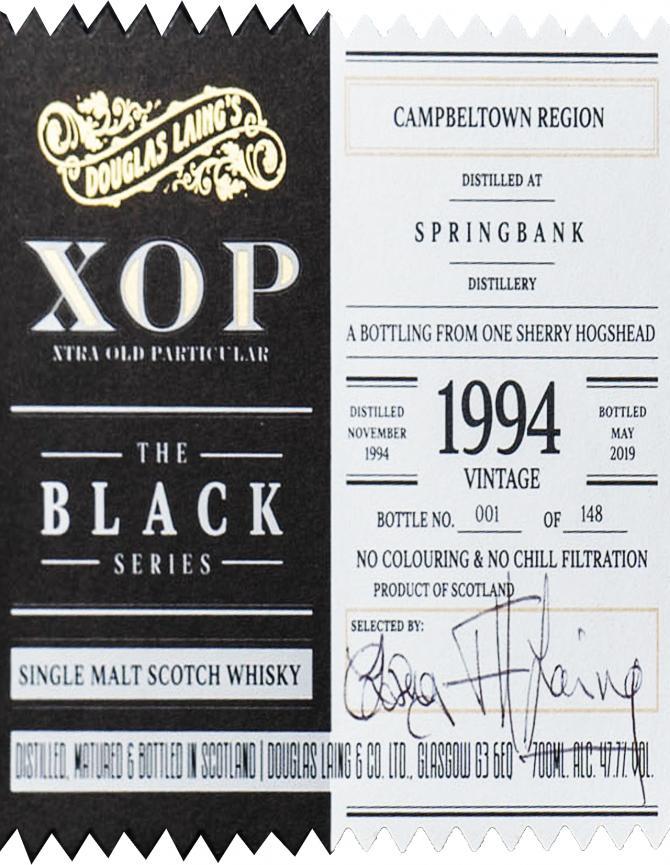 Springbank 1994 DL