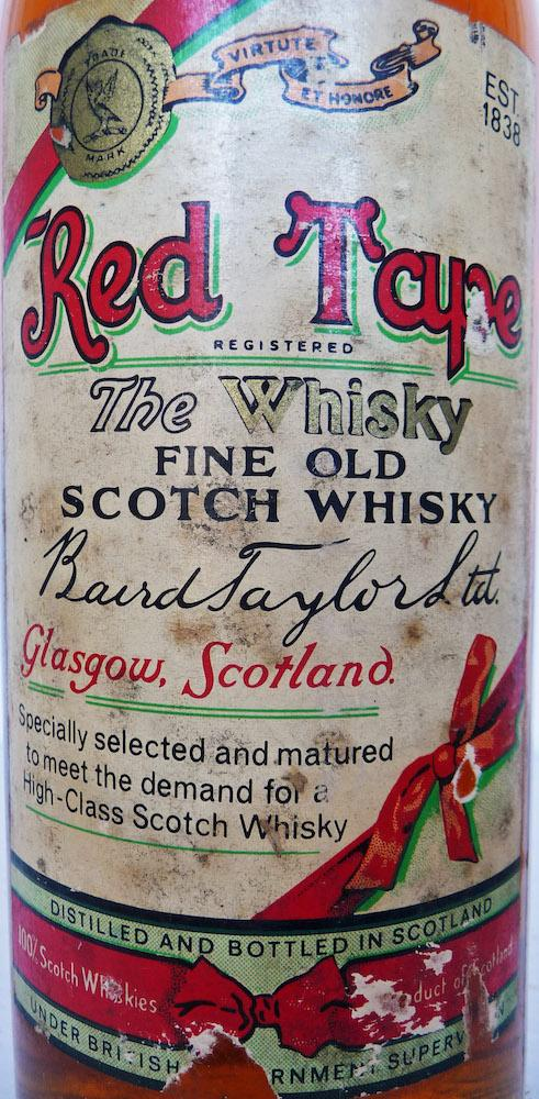 Red Tape Fine Old Scotch Whisky