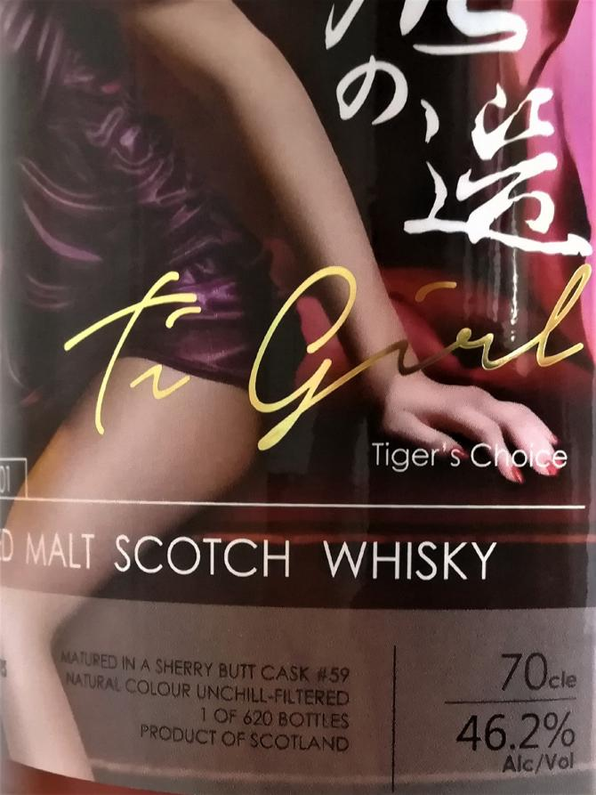 Ti Girl - Tiger's Choice 2001 TWf