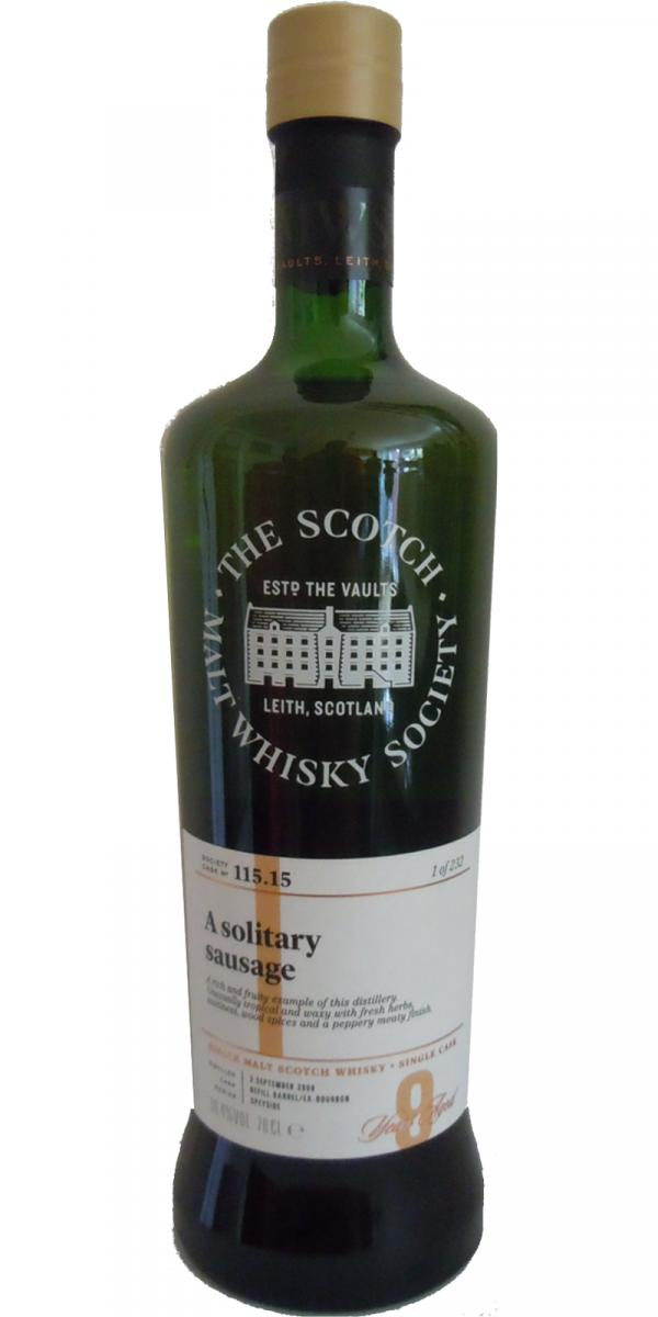 An Cnoc 2009 SMWS 115.15