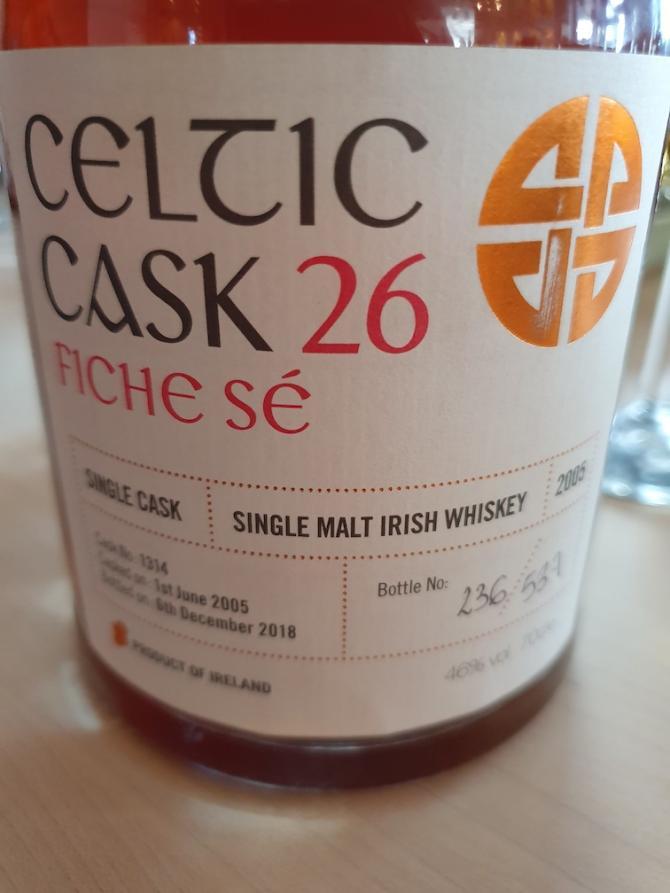 Celtic Cask 2005 - Fiche Sé - 26