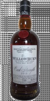 WillowBurn Batch No. 1 - Cask Strength