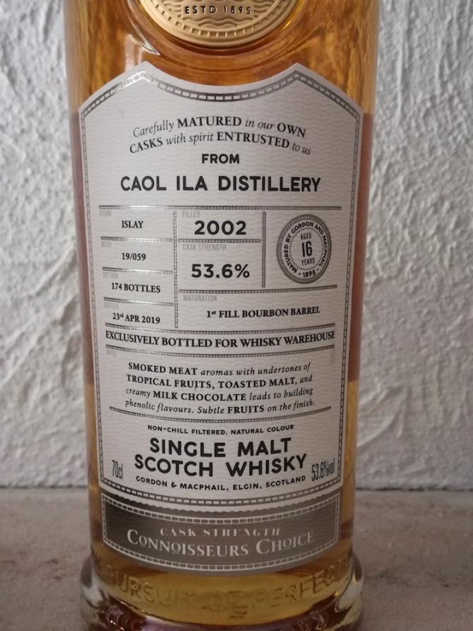 Caol Ila 2002 GM