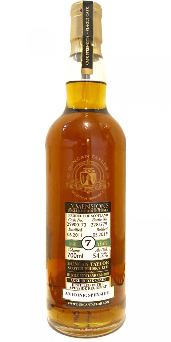 An Iconic Speyside 2011 DT